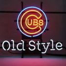 """Brand New MLB Classic Old Style Chicago Cubs Beer Bar Neon Light Sign 17""""x 15"""" [High Quality]"""