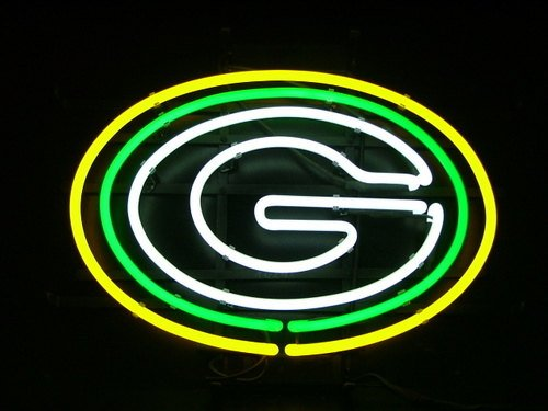Brand New Nfl Green Bay Packers Logo Football Beer Bar
