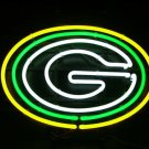 """Brand New NFL Green Bay Packers Logo Football Beer Bar Neon Light Sign 16""""x 13"""" [High Quality]"""