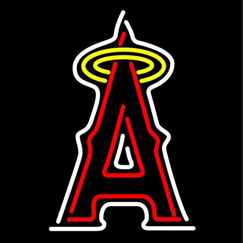 "Brand New MLB Los Angeles Angels Baseball Beer Bar Neon Light Sign 16""x 14"" [High Quality]"