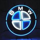 "Brand New BMW Motor Car Racing Neon Light Sign 16""x 16"" [High Quality]"