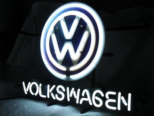 "Brand New Volkswagen VW German Auto Car Neon Light Sign 18""x 16"" [High Quality]"
