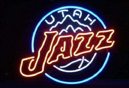"Brand New NBA Utah Jazz Beer Bar Pub Neon Light Sign 17""x 17"" [High Quality]"