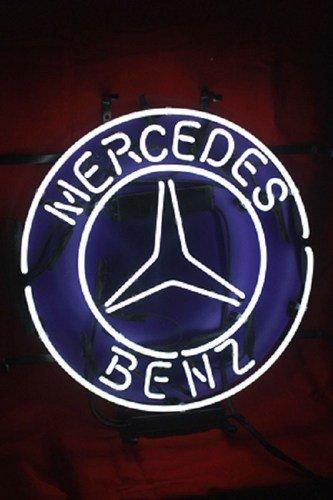 "Brand New Mercedes Benz Car Auto Beer Bar Neon Light Sign 16""x16"" [High Quality]"