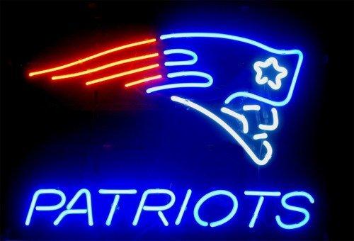"Brand New NFL England Patroits Neon Light Sign 16""x 14"" [High Quality]"