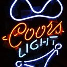 "Brand New COORS Light Sexy Girl enjoy Pub Neon Light Sign 17""x14"" [High Quality]"