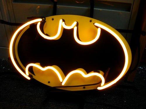 "Brand New Robin and Batman Logo Neon Light Sign 16""x 12"" [High Quality]"