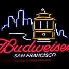 "Brand New BUDWEISER San Francisco City Neon Light Sign 17""x 15"" [High Quality]"
