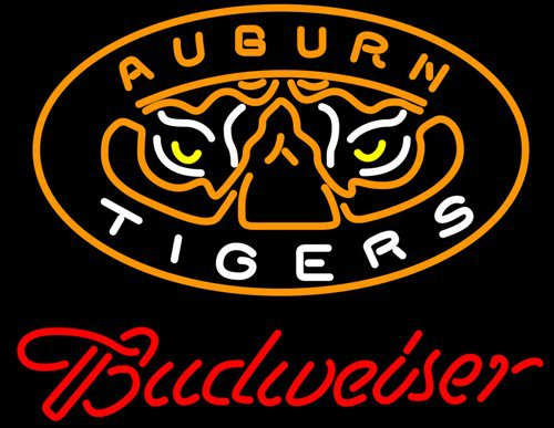 "Brand New NCAA Auburn Tiger College Football Beer Bar Neon Light Sign 20""x 17"" [High Quality]"