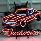 """Brand New Budweiser Car Auto Dealer Beer Bar Pub Neon Light Sign 17""""x 16"""" [High Quality]"""