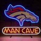 "Brand New Nfl Denver Broncos Man Cave Beer Bar Pub Neon Light Sign 18""x 16"" [High Quality]"