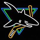 "Brand New NHL San Jose Sharks Beer Bar Neon Light Sign 18""x 16"" [High Quality]"