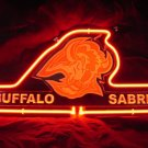 "Brand New NHL Buffalo Sabres Hockey Beer Neon Light Sign 14""x 8"" [High Quality]"