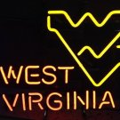 "Brand New NCAA West Virginia WV Mountaineers University Neon Light Sign 18""x 16"" [High Quality]"