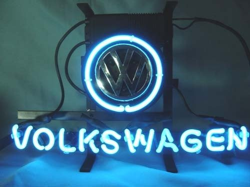 "Brand New VW Volkswagen Car Auto Dealer Beer Bar Pub Neon Light Sign 14""x8"" [High Quality]"