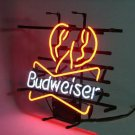 "Brand New Budweiser Lobster Beer Bar Pub Neon Light Sign 18""x 16"" [High Quality]"
