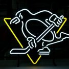 """Brand New Pittsburgh Penguins Beer Bar Neon Light Sign 18""""x 16"""" [High Quality]"""
