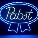 "Brand New Pabst Blue Ribbon Lager Beer Neon Light Sign 18""x 16"" [High Quality]"