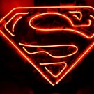 "Brand New Superman Logo Neon Light Sign 16""x 15"" [High Quality]"