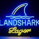 "Brand New Landshark Lager Beer Neon Light 16""x 14"" [High Quality]"