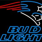 "Brand New NFL New England Patriot Beer Bar Neon Light Sign 16""x 15"" [High Quality]"