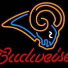 "Brand New Budweiser NFL St. Louis Rams Beer Bar Pub Neon Light Sign 16""x 15"" [High Quality]"