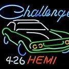 "Brand New Big Dodge Challenger Rt Hemi Neon Light Sign 16""x 15"" [High Quality]"