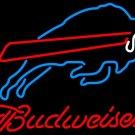 """Brand New NFL Budweiser Buffalo Bills Beer Bar Pub Neon Light Sign 16""""x 14"""" [High Quality]"""