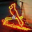 "Brand New MLB St. Louis Cardinals Budweiser Beer Bar Neon Sign 16""x14"" [High Quality]"