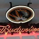 "Brand New NCAA Missouri Tigers Budweiser Neon Light Sign 13""x 8"" [High Quality]"