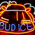"Brand New Bud Ice Car Beer Bar Pub Neon Light Sign 16""x 15"" [High Quality]"