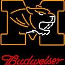 "Brand New NCAA Missouri Tigers Budweiser Neon Light Sign 16""x 15"" [High Quality]"