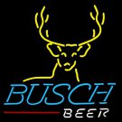 "Brand New Busch Beer Deer Beer Bar Neon Light Sign 16""x 15"" [High Quality]"