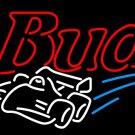 "Brand New Budweiser Race Car Beer Bar Pub Neon Light Sign 16""x15"" [High Quality]"