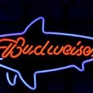 "Brand New Budweiser Shark Beer Bar Pub Neon Light Sign 16""x 14"" [High Quality]"