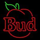 "Brand New Bud Light Bud Apple Neon Light Sign 16""x 15"" [High Quality]"
