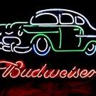 """Brand New Budweiser Car Auto Dealer Beer Bar Neon Light Sign 16""""x 15"""" [High Quality]"""