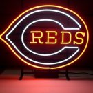 "Brand New MLB Cincinnati Reds Baseball Neon Light Sign 16""x 13"" [High Quality]"