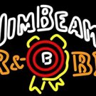 "Brand New Jim Beam Whiskey Beer Bar Pub Neon Light Sign 17""x14"" [High Quality]"