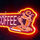 "Brand New Coffee 3D Acryl Neon Beer Bar Neon Light Sign 11""x 8"" [High Quality]"