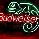 "Brand New Budweiser Liz Lizard Beer Bar Neon Light Sign 16""x 14"" [High Quality]"