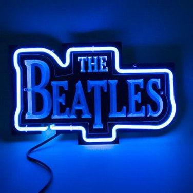 """Brand New The Beatles 3D Acrylic Beer Bar Neon Light Sign 12""""x 8"""" [High Quality]"""