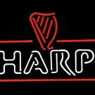 "Brand New Harp Lager Guinness Logo Beer Bar Pub Neon Light Sign 18""x16"" [High Quality]"