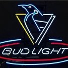 "Brand New NHL Pittsburgh Penguin Bud Light Neon Light Sign 16""x14""[High Quality]"