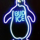 "Brand New Penguin Bud Ice Beer Neon Light Sign 16""x14"" [High Quality]"