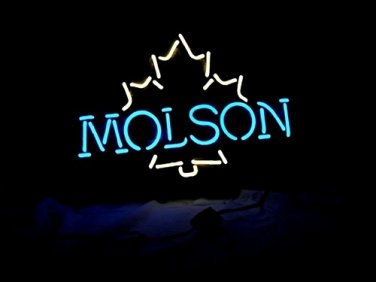 "Brand New Molson Beer Bar Pub Club Neon Light Sign 16""x 12"" [High Quality]"
