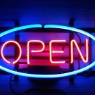 "Brand New Open Restaurant Beer Bar Store Neon Light Sign 15""x 13"" [High Quality]"