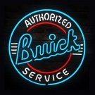 "Brand New Authorized Buick Service Auto Neon Light Sign 22""x 22"" [High Quality]"