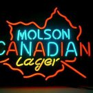 """Brand New Molson Canadian Lager Beer Bar Neon Light Sign 16""""x 14"""" [High Quality]"""
