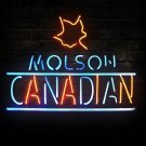 "Brand New Molson Canadian Beer Bar Pub Neon Light Sign 16""x 15"" [High Quality]"